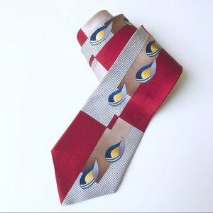 Oscar De La Renta 100% Silk Men's Tie